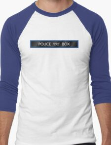 Police Box Men's Baseball ¾ T-Shirt