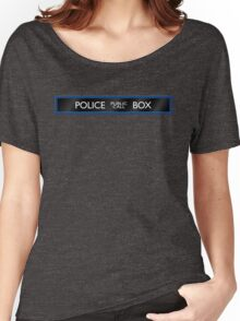 Police Box Women's Relaxed Fit T-Shirt