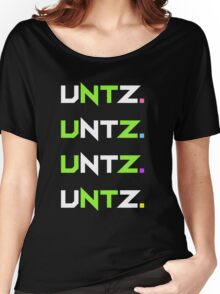 untz. black. Women's Relaxed Fit T-Shirt
