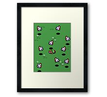 error 404, a murder most fowl! Framed Print