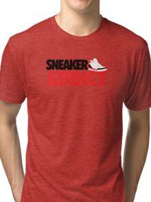 Sneaker Addict J3 Fire Red Tri-blend T-Shirt