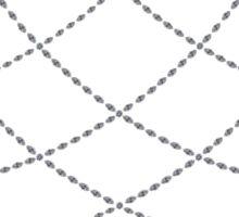 Diamond Hoops Sticker