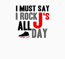 Rock JS All Day Jordan Breds Unisex T-Shirt