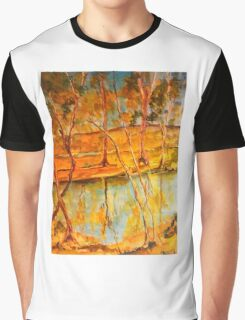 Goulburn River Seymour Vic Australia Graphic T-Shirt