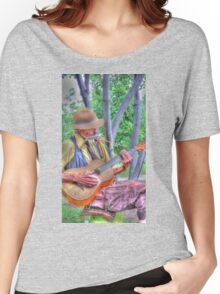 Traveling Troubadour Women's Relaxed Fit T-Shirt