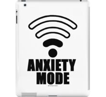 Anxiety mode iPad Case/Skin