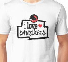I Love Sneakers J11 Breds Unisex T-Shirt