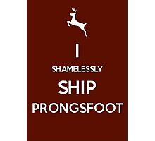 Shamelessly Ship Prongsfoot Photographic Print