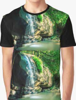 Serenity Falls Graphic T-Shirt
