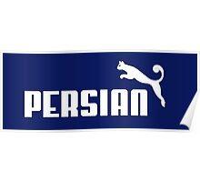 Persian - White #1 Poster