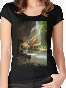Serenity Falls Women's Fitted Scoop T-Shirt