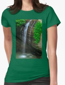 Serenity Falls Womens Fitted T-Shirt