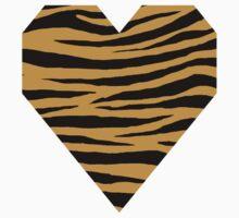 0615 Aztec Gold Tiger One Piece - Short Sleeve