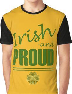 Irish and Proud Graphic T-Shirt