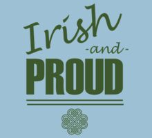 Irish and Proud One Piece - Short Sleeve