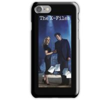The X-Files iPhone Case - Black iPhone Case/Skin