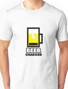 BEER charged Unisex T-Shirt