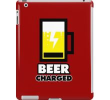 BEER charged iPad Case/Skin
