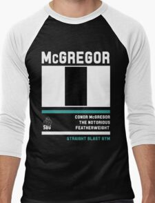 Conor McGregor - Fight Camp Collection (check artist notes for limited edition link)  Men's Baseball ¾ T-Shirt
