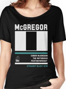 Conor McGregor - Fight Camp Collection (check artist notes for limited edition link)  Women's Relaxed Fit T-Shirt