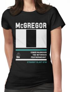 Conor McGregor - Fight Camp Collection (check artist notes for limited edition link)  Womens Fitted T-Shirt