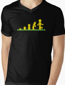 Lego Robot Evolutions Mens V-Neck T-Shirt