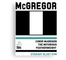 Conor McGregor - Fight Camp Collection (check artist notes for limited edition link)  Canvas Print
