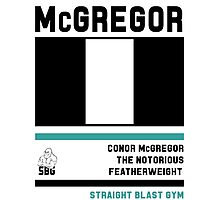 Conor McGregor - Fight Camp Collection (check artist notes for limited edition link)  Photographic Print