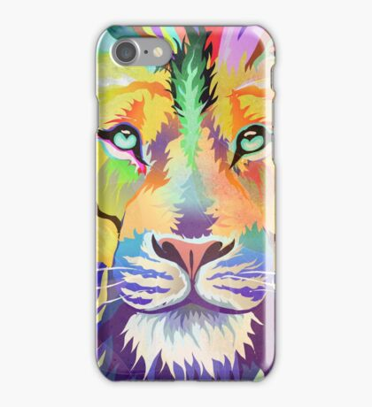 The King of Technicolor iPhone Case/Skin