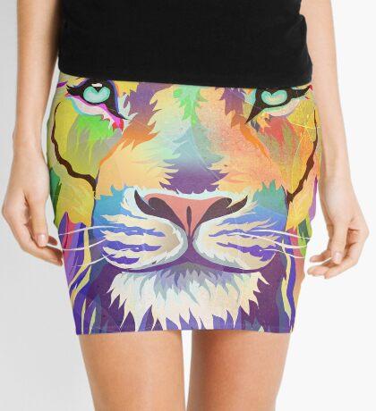 The King of Technicolor Mini Skirt