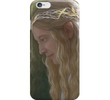 Galadriel, the Lady of Lorien iPhone Case/Skin