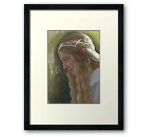 Galadriel, the Lady of Lorien Framed Print