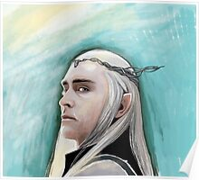Thranduil the Lord of Mirkwood Poster