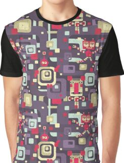 Geometric robots. Graphic T-Shirt