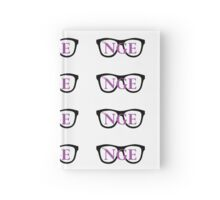 The Nerdy Girl Express Minimal Design HB Journal Hardcover Journal