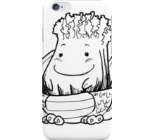 Celerzard the slightly Stoic iPhone Case/Skin