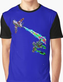Dogfight Paint Bombing Graphic T-Shirt