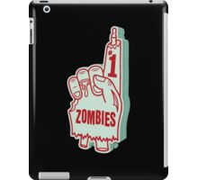 Number One Zombies iPad Case/Skin