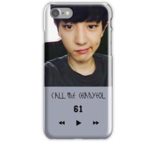 CALL ME CHAN YEOL iPhone Case/Skin