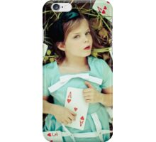 Alice in Wonderland - Ace iPhone Case/Skin