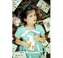 Alice in Wonderland - Ace Photographic Print