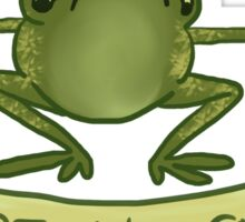 who care frog Sticker