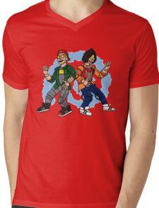 Good Robot Us's! Mens V-Neck T-Shirt