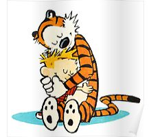 Calvin and hobbes i like moment Poster