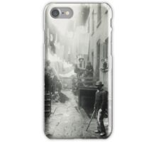 Jacob Riis, Bandit's Roost,  from How the Other Half Lives. iPhone Case/Skin