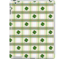 St. Patricks Day Plaid iPad Case/Skin
