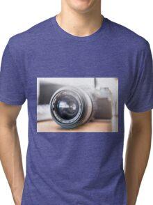 Olympus SLR Camera Tri-blend T-Shirt