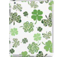 St. Patricks Day Shamrocks iPad Case/Skin