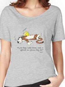 Calvin And Hobbes Quote sleep Women's Relaxed Fit T-Shirt
