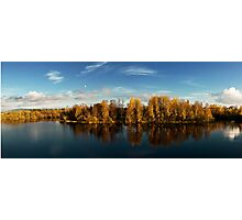 Autumn in Oulu Photographic Print